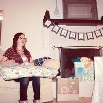 sarah opening gifts 2